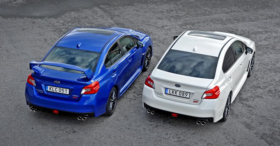 Subaru WRX STI 2015 vs Subaru WRX 2015.jpg